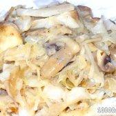 Кулінарний рецепт квашена капуста з грибами з фото