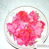 Кулінарний рецепт квашена капуста з буряком з фото