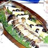 Кулінарний рецепт осетер запечений цілком з фото