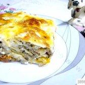 Кулінарний рецепт пиріг з лаваша з фото
