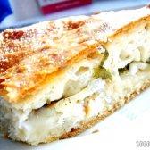 Кулінарний рецепт рибний пиріг з палтусом і рисом з фото
