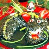 Кулінарний рецепт салат дракон 2012 з фото