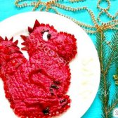 Кулінарний рецепт салат дракон з фото