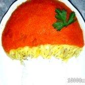 Кулінарний рецепт салат грибок з фото