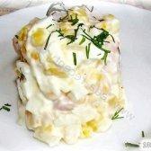 Кулінарний рецепт салат на свято і кожен день з фото