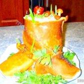 Кулінарний рецепт салат пеньок з фото