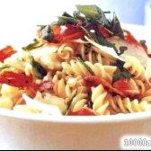 Кулінарний рецепт салат з макаронами і шинкою з фото