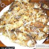 Кулінарний рецепт запечена риба скумбрія на багатті з фото