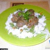 Кулінарний рецепт смажена куряча печінка з фото