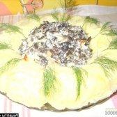 Кулінарний рецепт смажені опеньки в сметані з фото