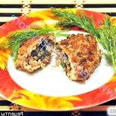 Кулінарний рецепт зрази курячі з грибами з фото