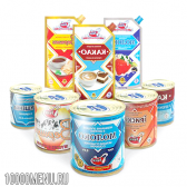 Молочні консерви. види молочних консервів