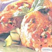 Рецепт грудки курячі фаршировані цукіні з фото
