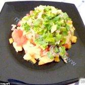 Рецепт салат з маринованою цибулею мексиканський з фото