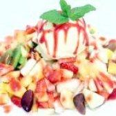 Як приготувати фруктовий салат з морозивом - рецепт