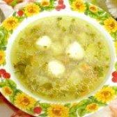Як приготувати гречаний суп з м'ясними кульками - рецепт