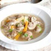 Як приготувати грибний суп з фрикадельками? рецепт приготування