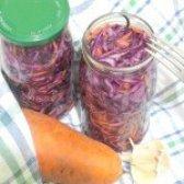 Як приготувати капусту краснокочанную мариновану - рецепт