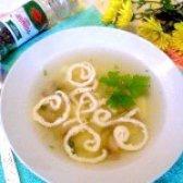 Як приготувати картопляний суп з грибами і омлетом - рецепт