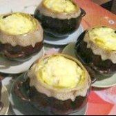 Як приготувати картоплю в горщиках з грибами - рецепт