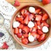 Як приготувати полуничний капрезе - рецепт