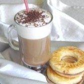 Як приготувати каву з молочною пінкою і тертим шоколадом - рецепт