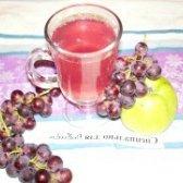 Як приготувати компот з яблук і винограду - рецепт