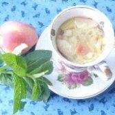 Як приготувати компот з ревеню з яблуками і м'ятою - рецепт