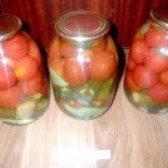 Як приготувати консервовані овочі літо у банку - рецепт