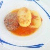 Як приготувати котлети з картоплею в томатному соусі - рецепт