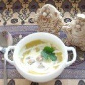 Як приготувати крем суп із брюссельської капусти брокколі з фрикадельками - рецепт