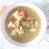 Як приготувати курячий суп з баклажанами - рецепт