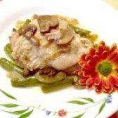 Як приготувати курятину з грибами та квасолею - рецепт