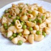Як приготувати макарони з зеленим горошком - рецепт