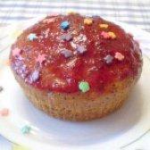 Як приготувати макові кекси з полуничною помадкою - рецепт
