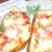 Як приготувати міні-піца з болгарським перцем і ковбасою - рецепт