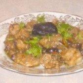 Як приготувати м'ясо тушковане з грибами і чорносливом - рецепт