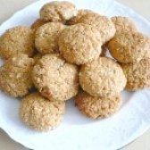 Як приготувати овсяно-сирне печиво з бананом - рецепт