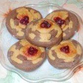 Як приготувати печиво з полуничним варенням - рецепт
