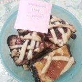 Як приготувати пісочне печиво з фруктовою начинкою - рецепт