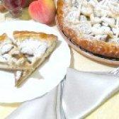 Як приготувати пиріг з консервованих персиків - рецепт