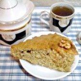Як приготувати пиріг горіховий з корицею - рецепт