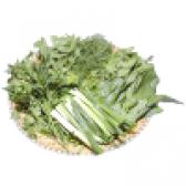 Свіжа зелень - калорійність і види. склад і користь зелені