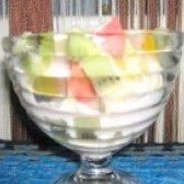 Як приготувати салат з яблук апельсина і ківі - рецепт
