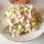 Як приготувати салат з шинкою і яблуком - рецепт