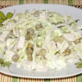 Як приготувати салат журавушка - рецепт