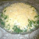 Як приготувати листковий салат з печінкою тріски - рецепт