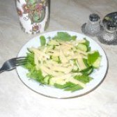 Як приготувати свіжий салат з сиром - рецепт