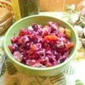 Як приготувати ситний м'ясний салат з рисом - рецепт