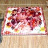 Як приготувати вінегрет з запечених овочів - рецепт